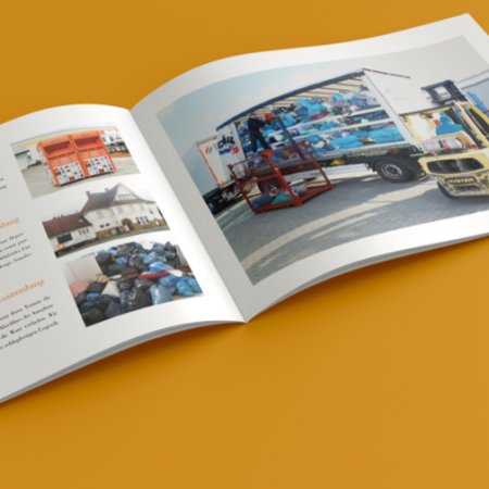 Relaunch Broschüre Kolping Recycling Gmbh